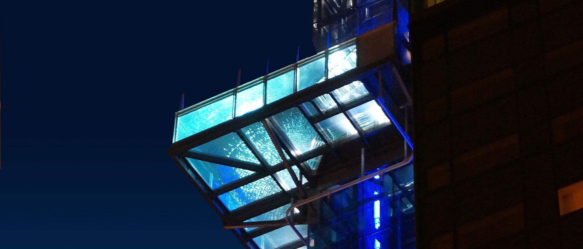 LED-belysning i byggnad
