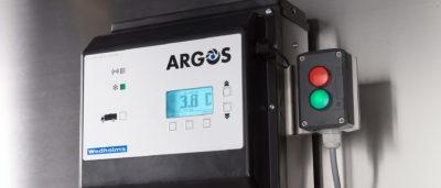 Argos styrstem på Wedholms mjölkkyltank