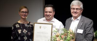 EEPAB får Quality Innovation Award från Tillväxtverkets generaldirektör